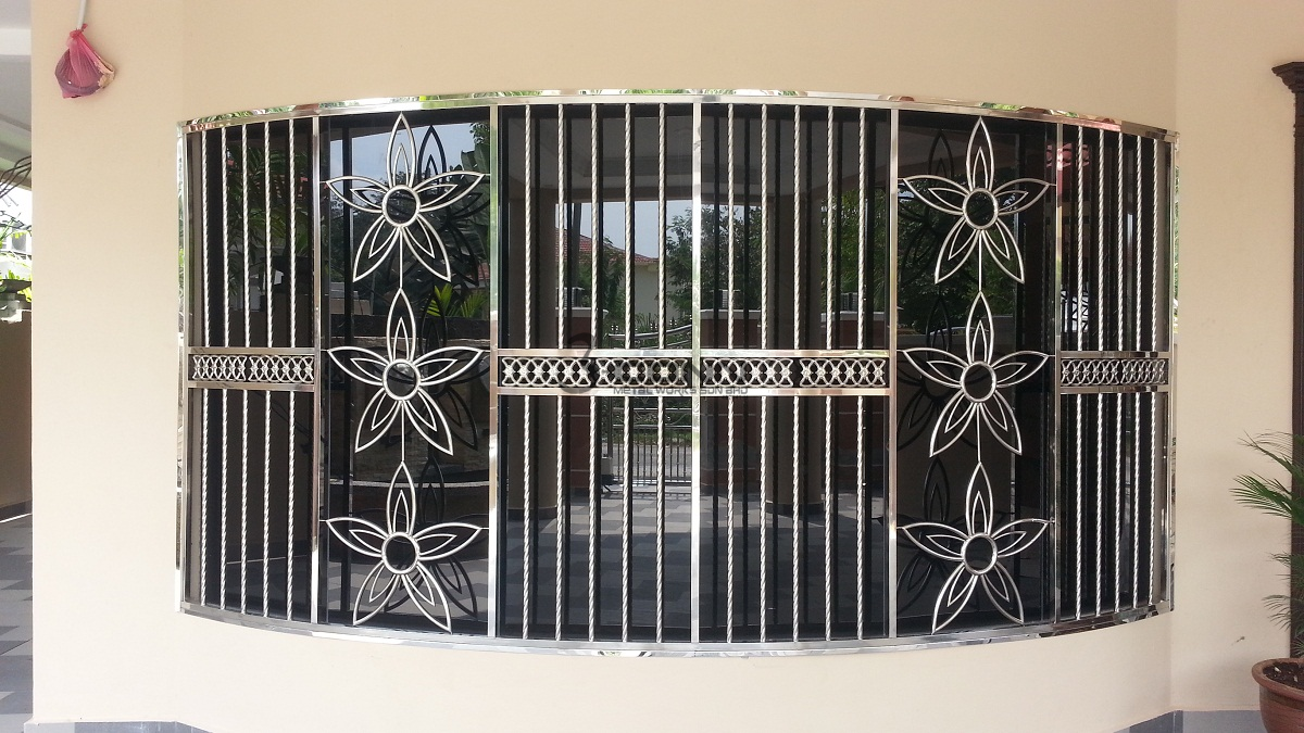 Stainless Steel Window Grill Stainless Steel Window Grill
