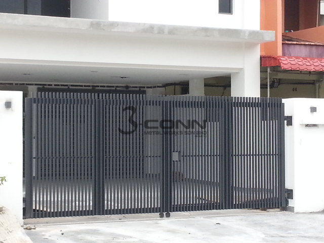 Mild Steel Folding Main Gate Folding Main Gate Folding