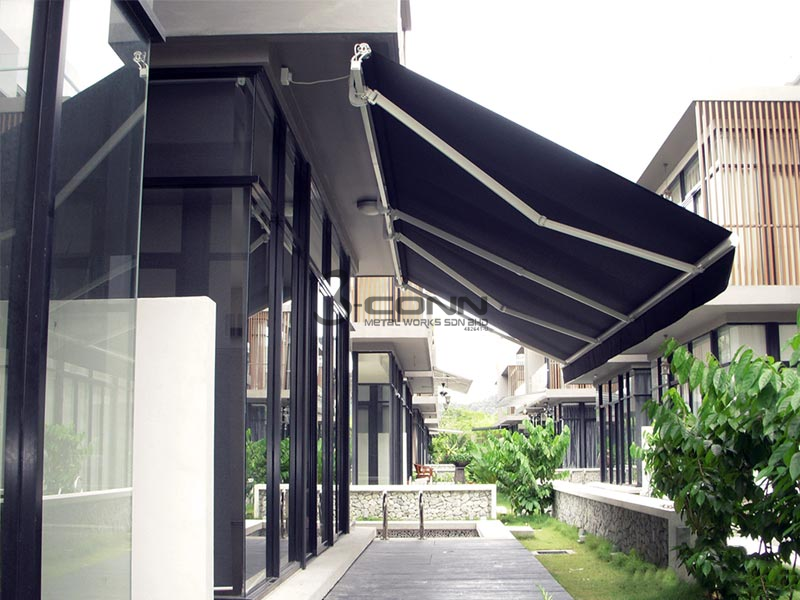 Retractable Awning Motorized Retractable Awning Commercial