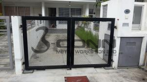 Mild Steel Swing Main Gate