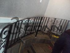 Wrought Iron Staircase (Curve)