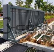 Mild Steel Sliding Main Gate