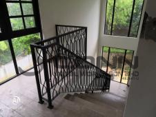 Wrought Iron Staircase Railing