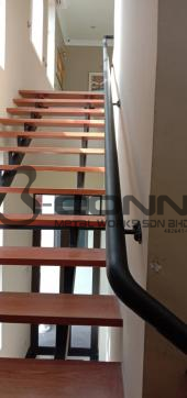 Wall Mounted Mild Steel Staircase Handrail