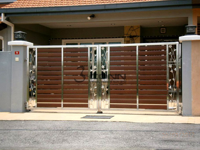 Main Gate Stainless Steel