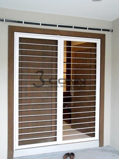 Mild steel door grillmild steel grill design