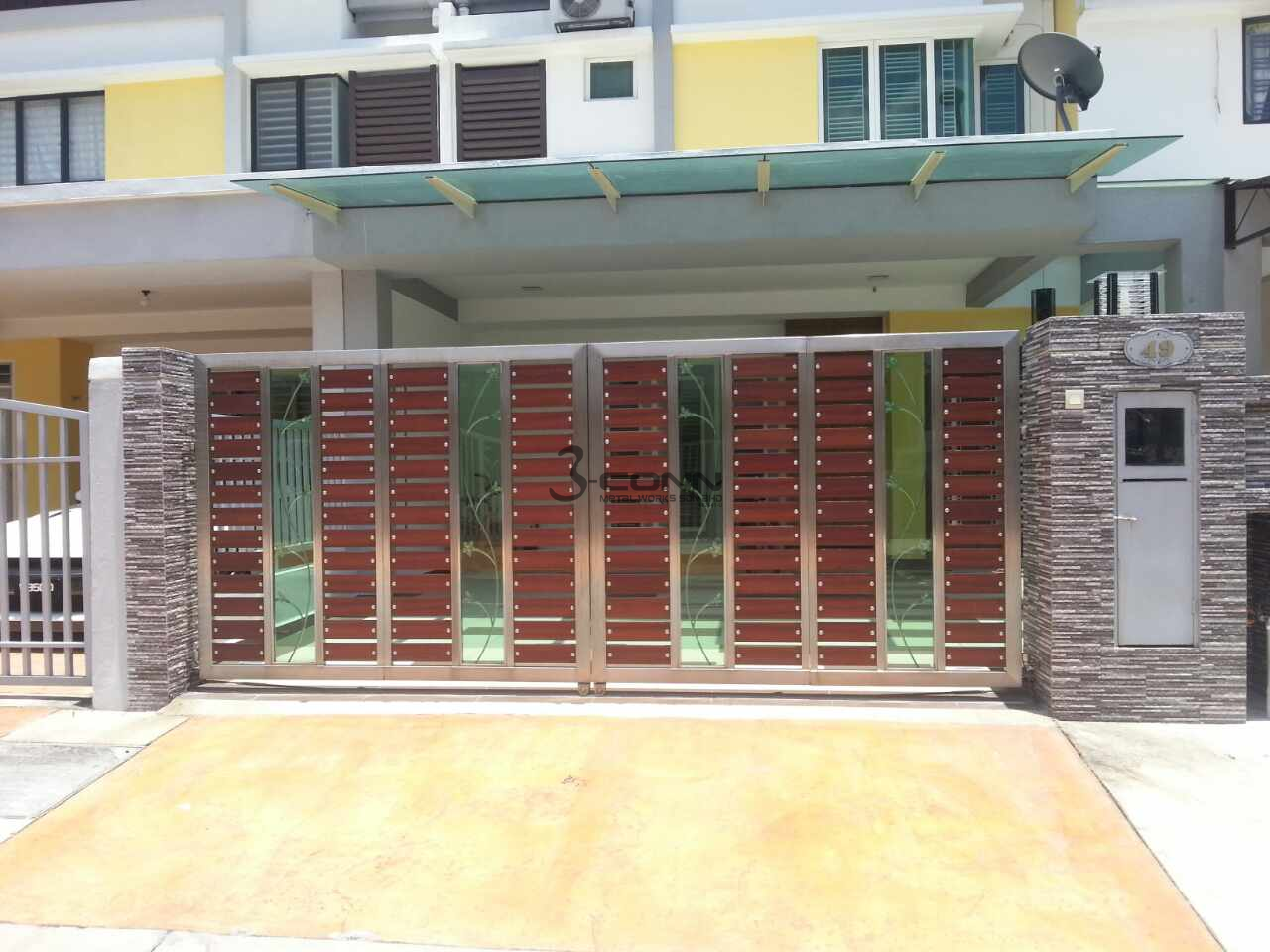 Stainless Steel Folding Main Gate,Folding Main Gate,Stainless ...