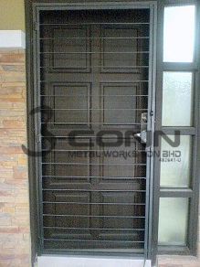 Mild Steel Door Grille