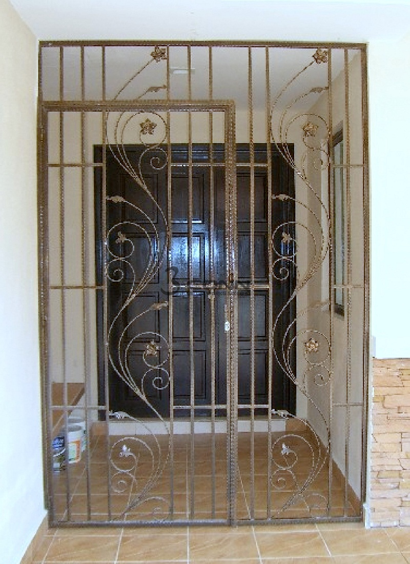 Wrought Iron Door Grille