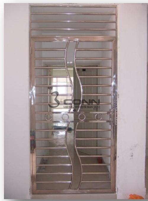 Stainless Steel Door Grille