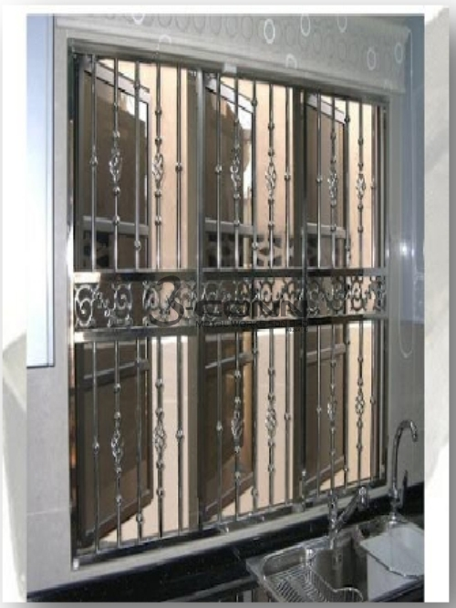 Stainless Steel Window Grille