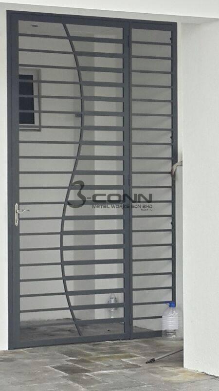 Mild Steel Door Grille Pezcame.Com & Door Grille \u0026 \